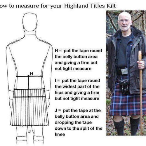Highland Laird Kilt