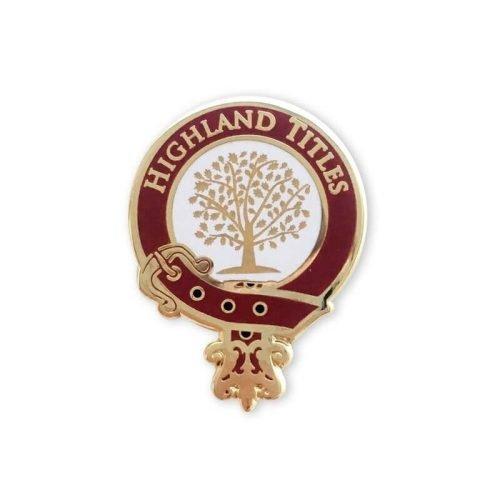 Highland Titel Anstecknadel