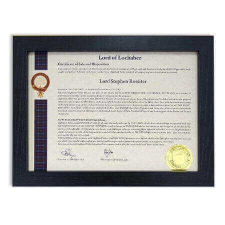 Zertifikat Echtholzrahmen