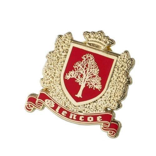 Glencoe Wappen Anstecknadel