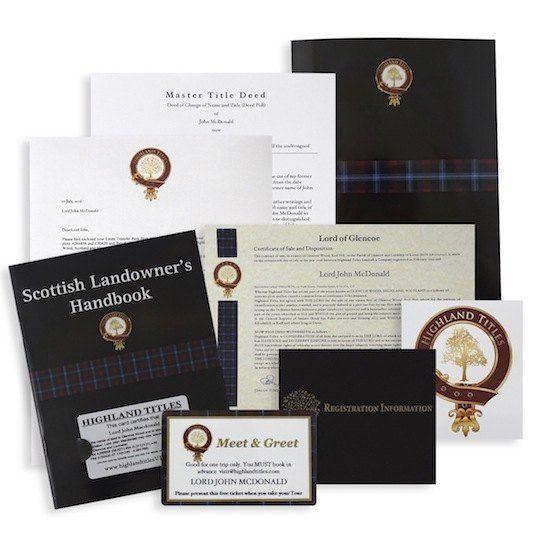 Highland Titel Paket