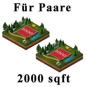 2 x 1000 Quadratfuß in Lochaber mit Highland Titel