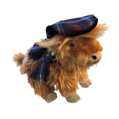 Highland Kuh mit Ton aus Plüsch